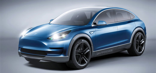 Tesla Model Y as imagined by Autocar