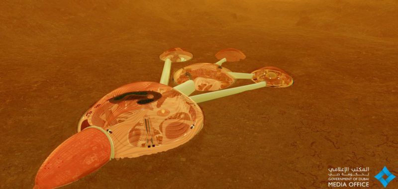 Emirates plan to build colony in Mars by 2117