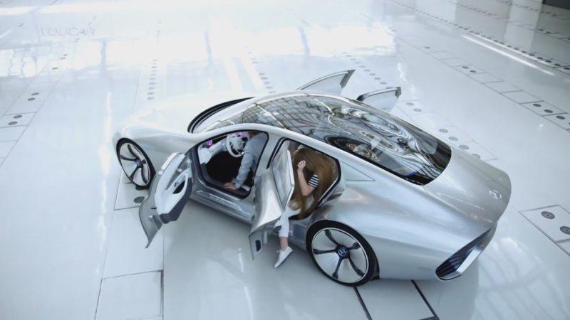 mercedes ten futurizmin dibi konsept